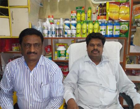 Mr. Somnath Maruti Jadhav with Parijat Sales Officer
